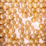 6212 saltwater half-drilled pearl about 6.5-7mm dyed gold color.jpg